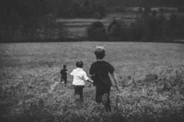 Streit zwischen Kindern